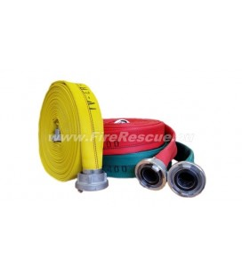 EUROFLEX TXS IRK FIREFIGHTING PRESSURE HOSE 52-C WITH STORZ COUPLINGS