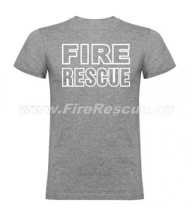 FIRERESCUE T-SHIRT - GREY