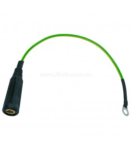 GROUND CONNECTION CABLE DINSE-SYSTEM - FEMALE