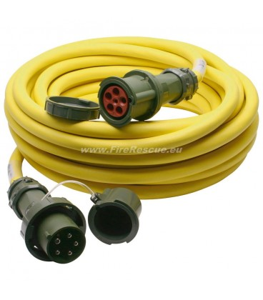 ELEKTRO EXTENSION CABLE THW-VERSION 400 V, 63 A