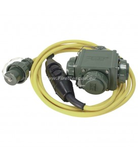 ELECTRICAL DISTRIBUTOR WITH PERSONAL PROTECTION LINE PRCD IP55